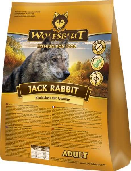Wolfsblut Jack Rabbit   mit Kaninchen und Gemüse   getreidefreies Hundefutter