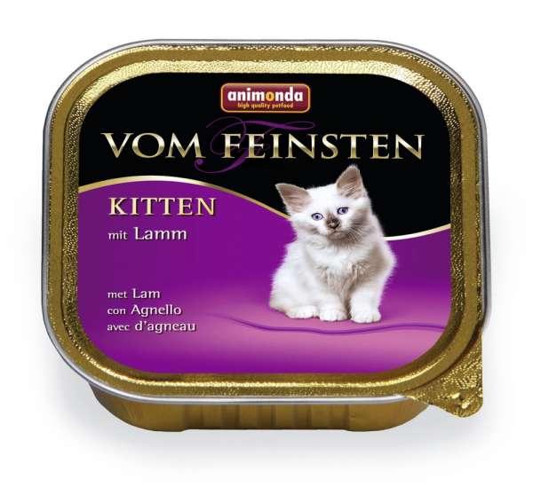 Animonda Vom Feinsten Kitten | mit Lamm | 6x100g