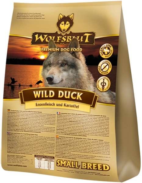 Wolfsblut Wild-Duck Small-Breed | mit Kartoffeln & Ente | getreidefreies Hundefutter