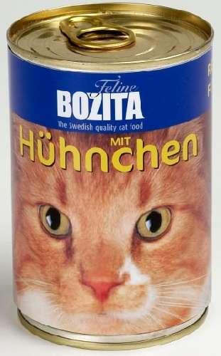 Bozita Cat, mit Huhn, 6x410g