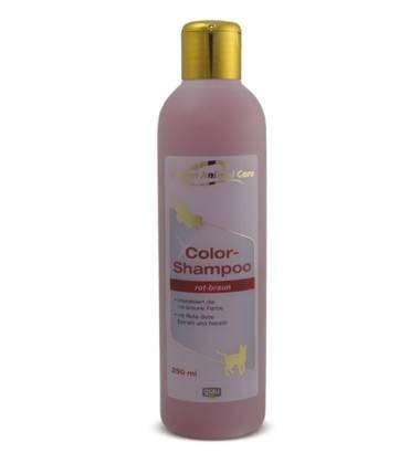 GAC Color-Shampoo rot-braun