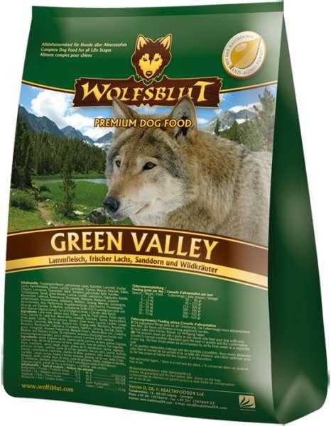 Wolfsblut Green-Valley, mit Lammfleisch & Fisch, getreidefrei