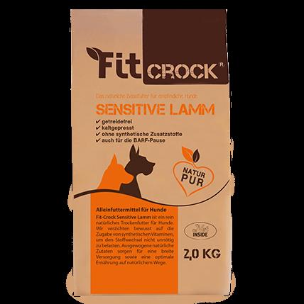 cdVet Fit-Crock Sensitive Maxi | kaltgepresst | getreidefreies Hundefutter