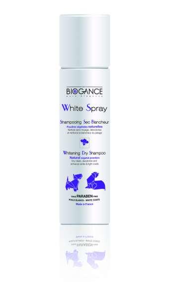 Biogance White Spray | White Coat Hunde-Trockenshampoo