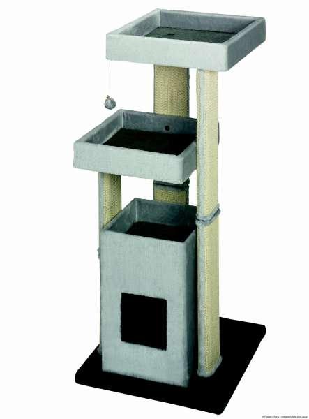 Nobby Kratzbaum Curico, grau, 60x60x134cm