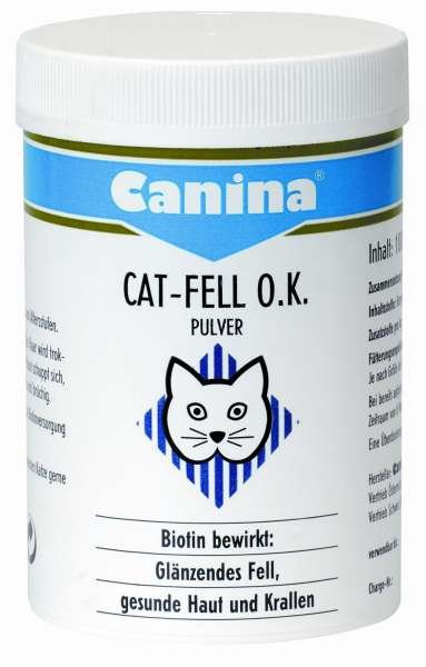 Canina Cat-Fell O.K. Pulver