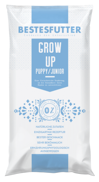 Bestesfutter Grow-Up Junior | gluten- & getreidefreies Hundefutter