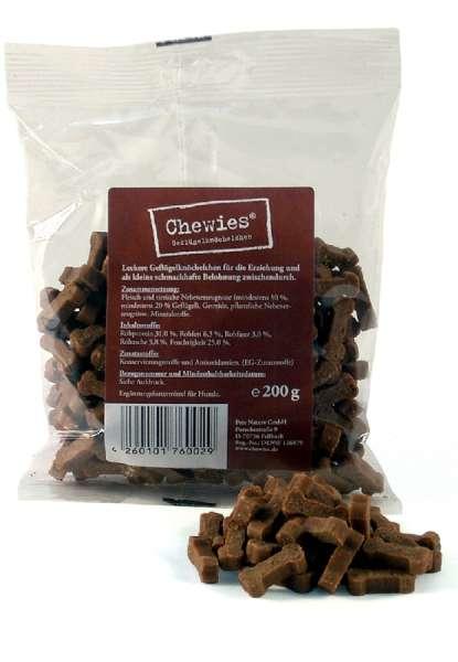 Chewies Geflügelknöchelchen, 200g