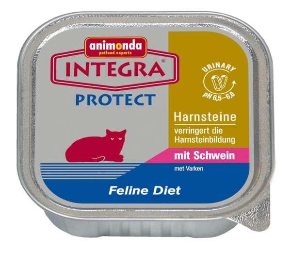 Animonda Integra Protect | Harnstein| mit Schwein | 6x100g