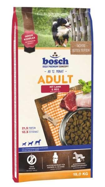 Bosch Adult | mit Lamm & Reis | 15 kg