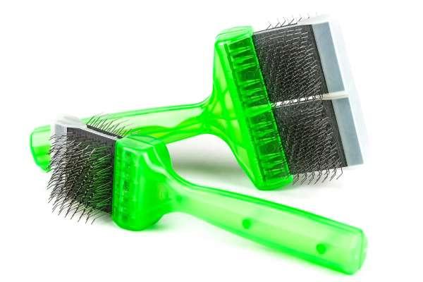 ActiVet Bürste PRO Soft (grün) | 2in1 Bürste (Bürsten/Entfilzen)