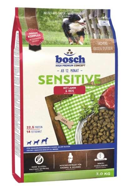Bosch Sensitive | mit Lamm & Reis | 3 kg