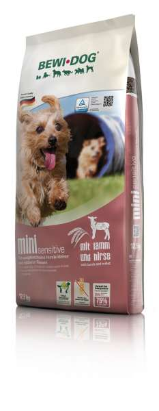 BEWI-Dog Mini-Sensitive | mit Lamm & Hirse | 12.5 kg