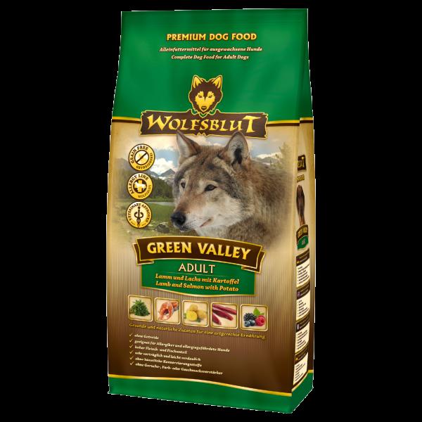 Wolfsblut Green-Valley | mit Lammfleisch & Fisch | getreidefrei