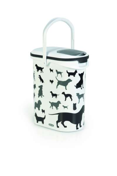 Container Silhouette Dog, 10 Liter