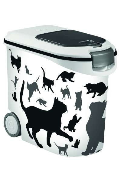 Container Silhouette Cat, 35 Liter