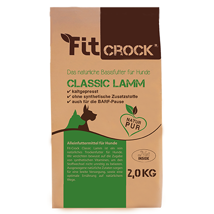 cdVet Fit-Crock Classic | mit Lamm | kaltgepresstes Basisfutter
