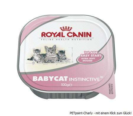 Royal Canin Babycat Instinctive, 4x100g