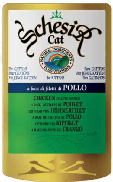 Schesir Kitten, mit Hühnerfilet, 6x100g