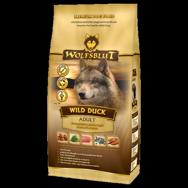 Wolfsblut Wild-Duck | mit Kartoffeln & Ente | getreidefreies Hundefutter