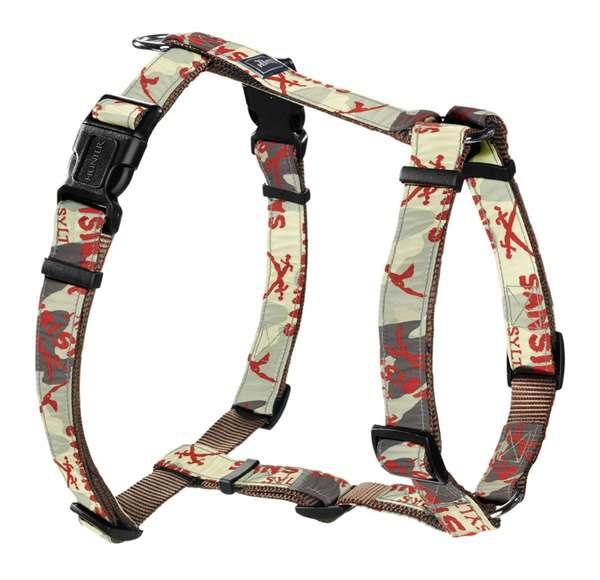 Hundegeschirr Krazy Sansibar Camouflage