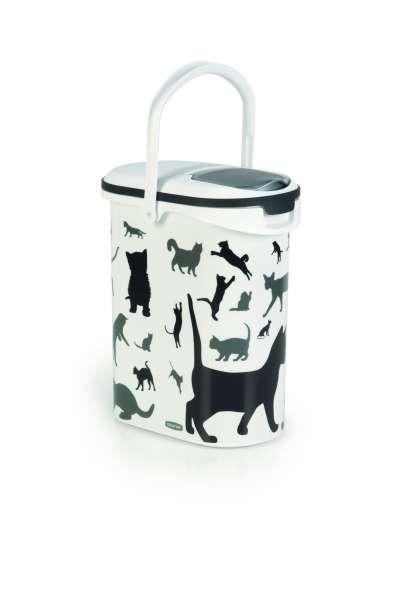 Container Silhouette Cat, 10 Liter