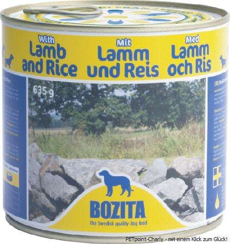 Bozita Lamm & Reis, 6x635g