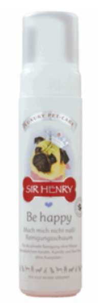 Sir-Henry BeHappy Reinigungsschaum