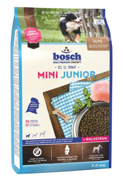 Bosch Mini Junior | 3 kg