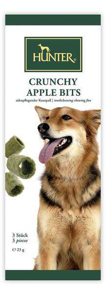 Hunter Crunchy Apple Bits | 23g Hundesnack