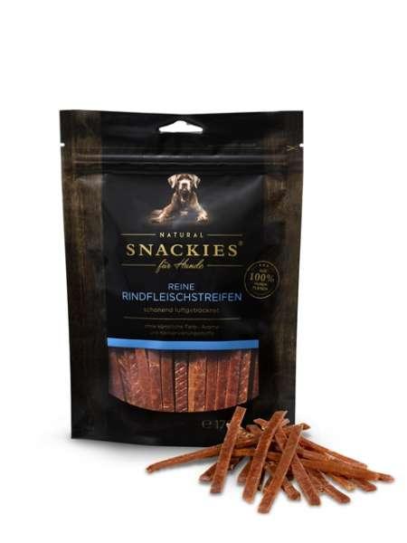 Snackies reine Rindfleischstreifen | luftgetrocknet | Hundesnacks
