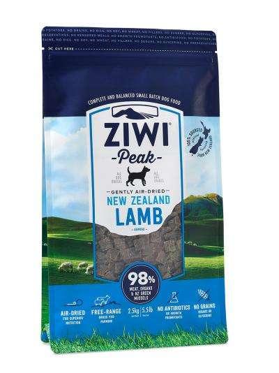 Ziwi Peak Air-Dried | mit Lamm | getreidefreies Hundefutter