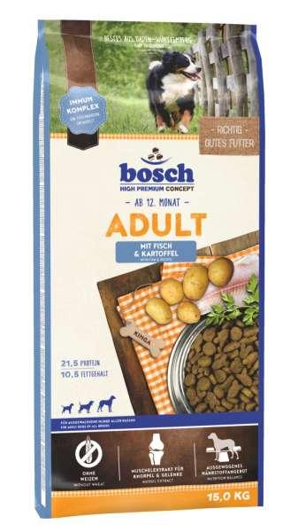 Bosch Adult | mit Fisch & Kartoffeln | 15 kg