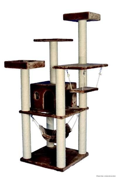 Nobby Kratzbaum Simba, braun, 70x70x200cm