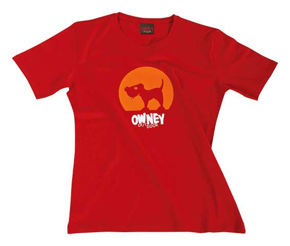 Owney Spotlight T-Shirt | women | rot-farben