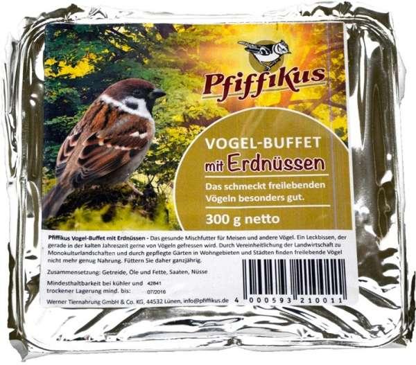 Pfiffikus Vogelbuffet mit Erdnüsse | Vogelfutter