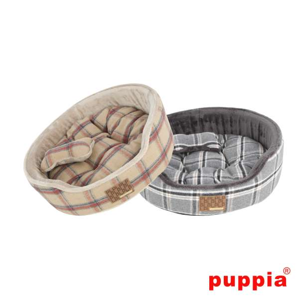 Puppia ® Kemp Bed | Kuschelbett | 47x47x17cm