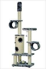 Kratzbaum Drago, grau-mamor, 80x60x230-265cm