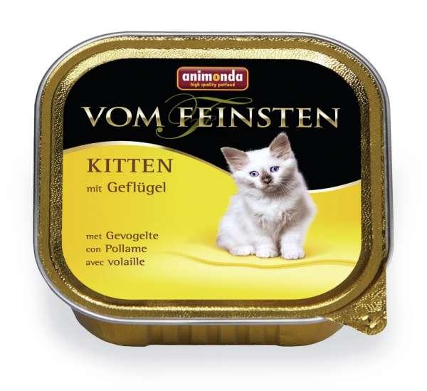 Animonda Vom Feinsten Kitten | mit Geflügel | 6x100g