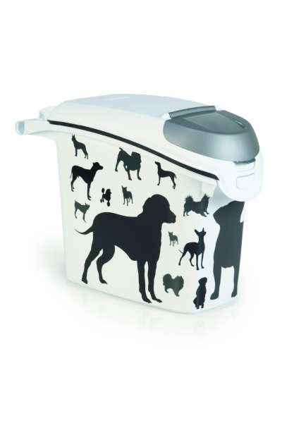 Container Silhouette Dog, 15 Liter