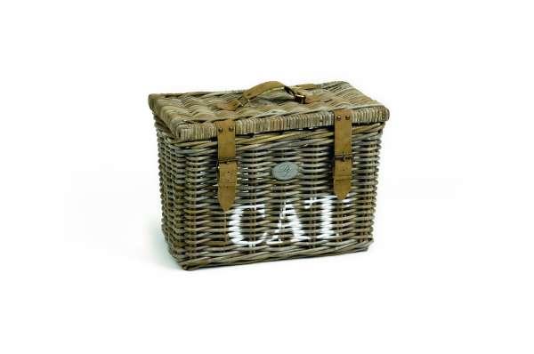 Kubu Aufbewahrungsbox Cat, 46x26x32cm