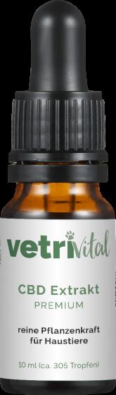 Vetrivital CBD Extrakt Premium | für Hunde & Katzen