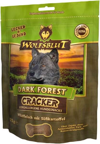 Wolfsblut Dark Forest Hundesnack Cracker, mit Wildfleisch, 225g