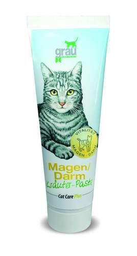 grau Cat-Care Plus Magen-Darm-Kräuter-Paste, 100g