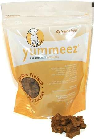 Yummeez Hundesnack, Geflügel, getreidefrei, 175g