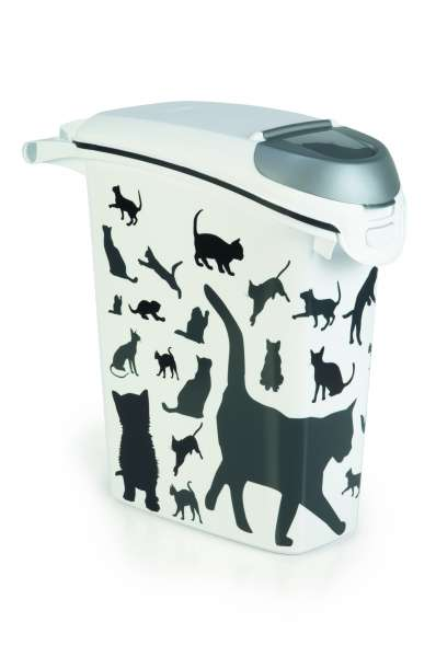 Container Silhouette Cat, 23 Liter
