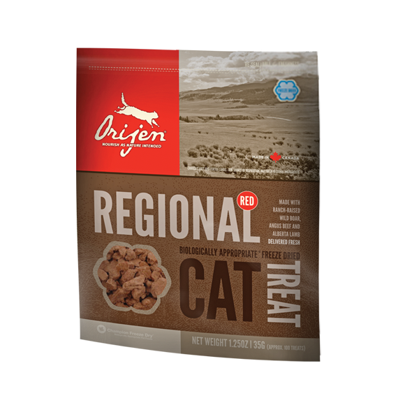 Orijen Cat Regional Red, Katzensnack, 35g