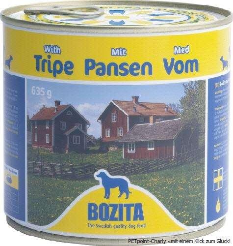 Bozita Pansen, 6x635g