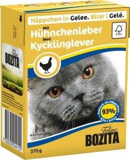 Bozita-Häppchen in Gelee, mit Hühnerleber, 6x370g
