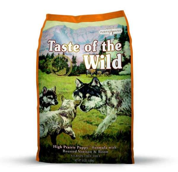 Taste of the Wild High Prairie Puppy | mit Bison & Wild